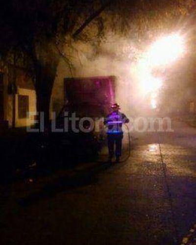 Nuevos ataques: quemaron tres vehículos en la madrugada