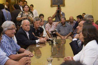 Empresarios locales plantearon a Scioli reducir la presión tributaria