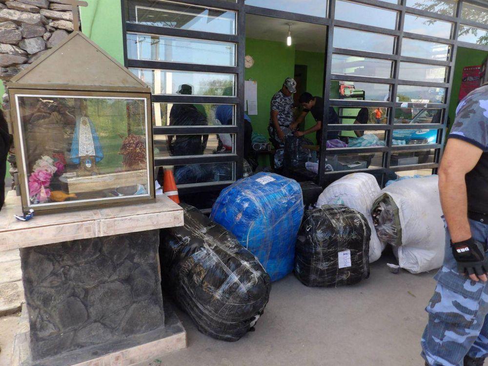 Incidentes en la ruta 38 por el secuestro de mercadería ilegal por 340.000 pesos