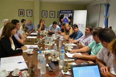 """Segovia y Lestani se reunieron con la Cámara de Comercio: """"Resistencia es materia fértil para trabajar"""""""