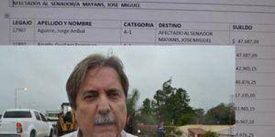 El acusado por la inundación de Clorinda cobra $47.087 como asesor de Mayans