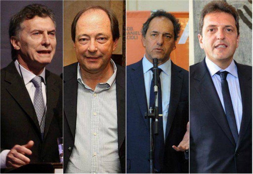 Macri, Scioli y Massa abren otro capítulo de las PASO en Mendoza y Santa Fé