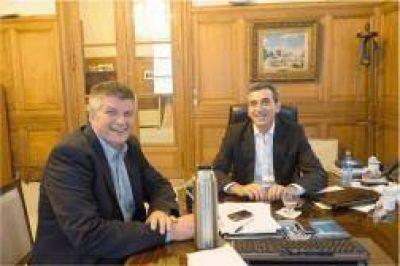 El ministro Florencio Randazzo recibió al diputado Alex Ziegler