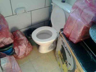 Residuos patogénicos, en baños de unidades sanitarias y en la morgue del Hospital Pintos