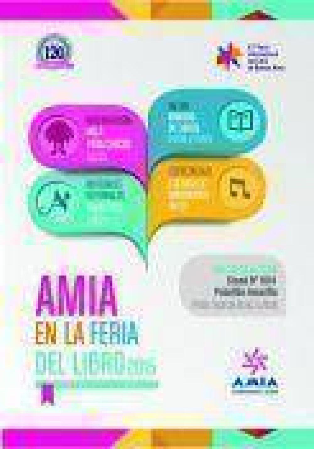 AMIA estará presente en la Feria Internacional del Libro