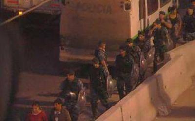 Tras los incidentes, hubo un tiroteo en La Salada