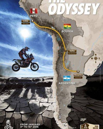 Confirman a Salta en el recorrido del Dakar 2016