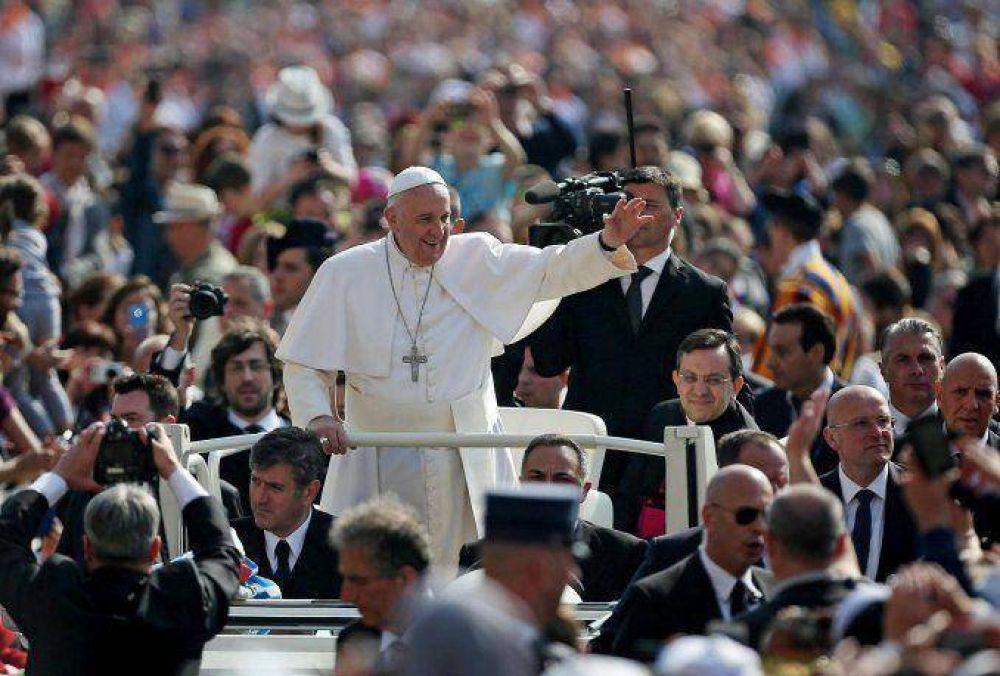 Confirman la visita del Papa a tres países latinoamericanos