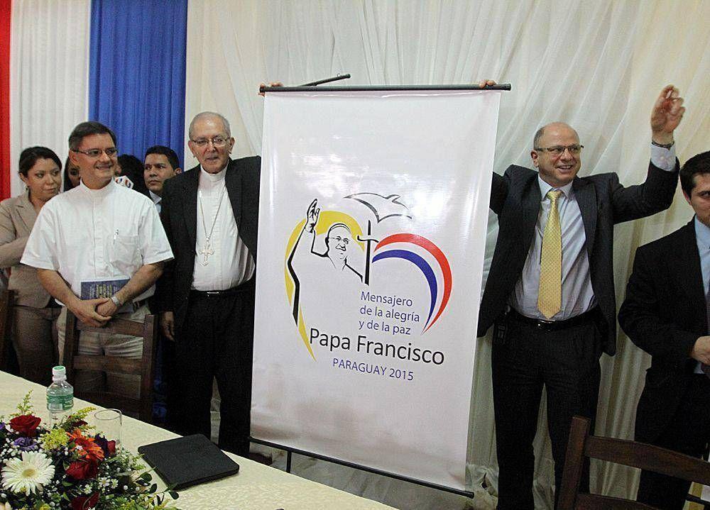 Iglesia estima que venida del Papa demandará más de G. 10.000 millones