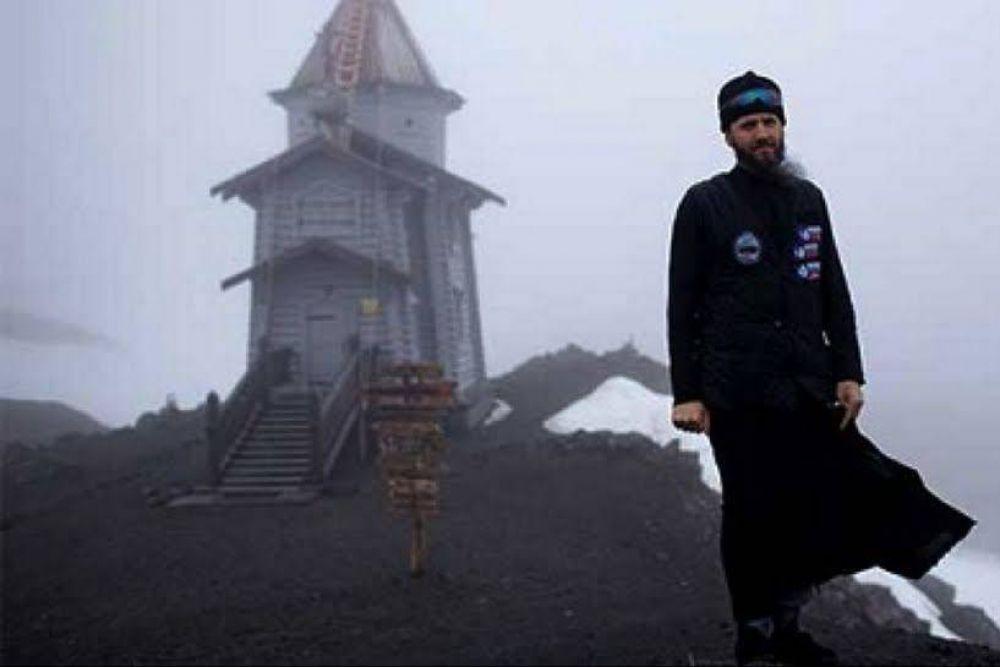 La Iglesia más austral del mundo: Ser cura a 25 grados bajo cero