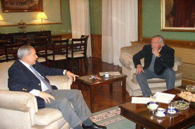 Fellner analizó con Barrionuevo la agenda legislativa