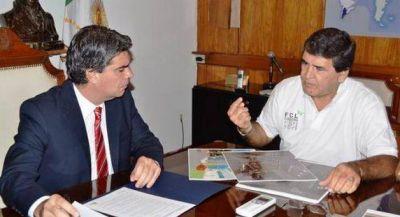Capitanich y Ciudad Limpia analizaron los proyectos de la entidad