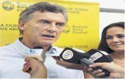 Macri llegó a Rosario para acompañar a los candidatos del PRO que competirán en las PASO