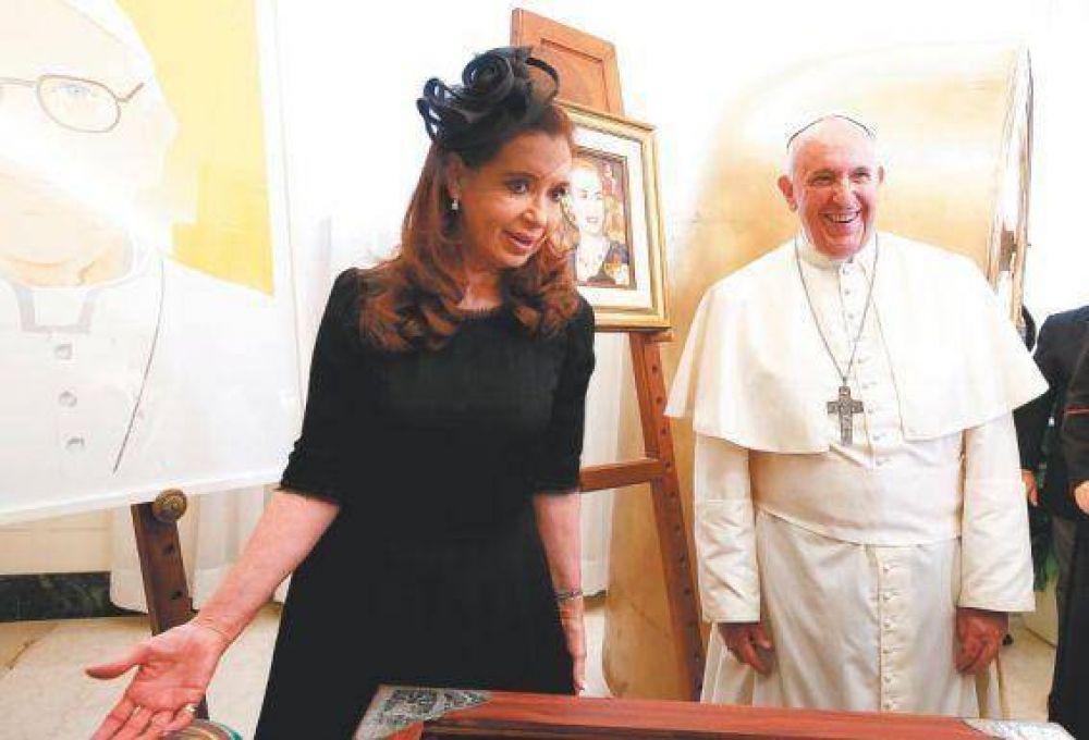 El quinto encuentro entre Francisco y CFK será a agenda abierta