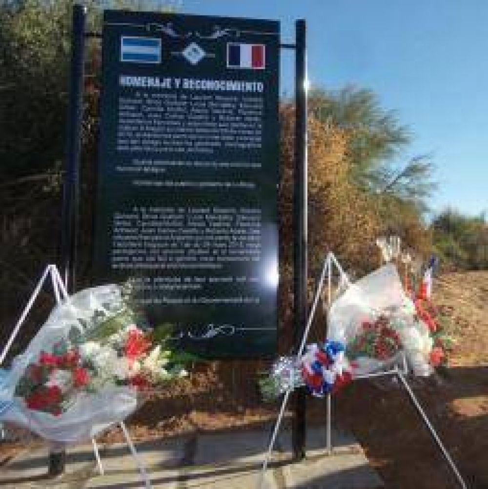 Homenaje a los fallecidos en el choque de helicópteros