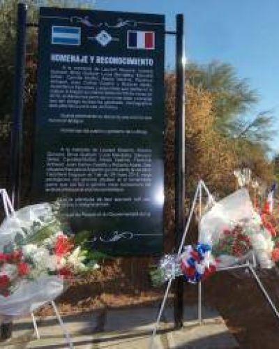 Homenaje a los fallecidos en el choque de helic�pteros