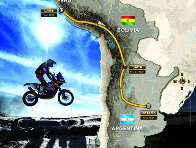 Confirmaron que el Dakar pasa por La Rioja