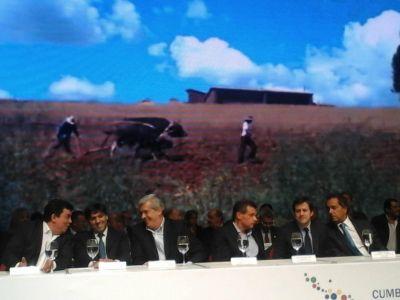 """Cumbre de Alcaldes: Pulti dio la bienvenida y habló de la """"generación de esperanzas"""""""
