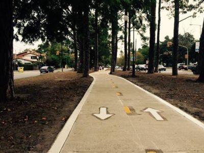 San Isidro fomenta el uso de la bicicleta y su uso con ciclov�as