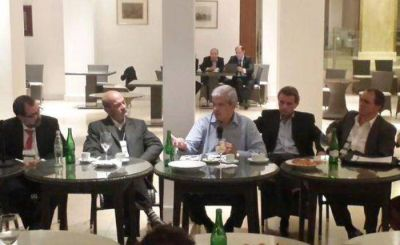 Julián Domínguez se reunió en Mar del Plata con la Agrupación Gelbard