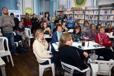 Impulsan la creación de un Sistema Provincial de Bibliotecas