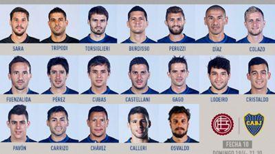Boca est� confirmado para visitar a Lan�s: Gago y Osvaldo se destacan en un equipo que tendr� 11 cambios