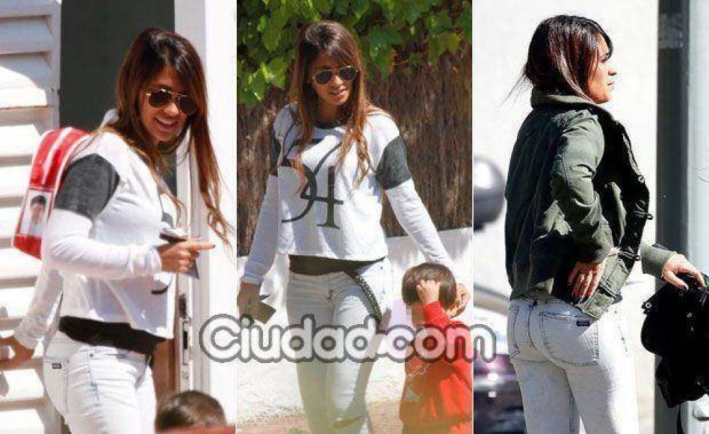 ¡Mini Messi en camino! Las fotos de Antonella Rocuzzo, embarazada de tres meses