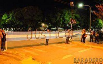 Baradero: Poca concurrencia en la marcha convocada contra Carossi