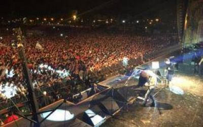 La Renga hizo rockear a miles de fanáticos en Bragado