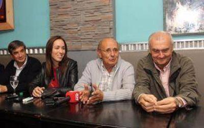 Vidal prometi� el plan de infraestructura