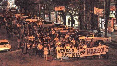 A un año del crimen de Marisol Oyhanart se sigue pidiendo justicia