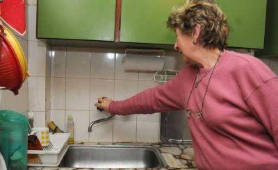 Alarma en la Regi�n el grave deterioro del servicio de agua
