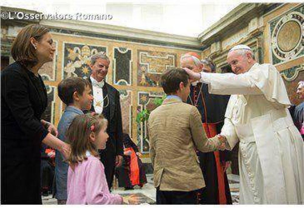 """El Papa Francisco elogia la labor de la """"Papal Foundation"""""""