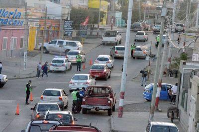 Amplios operativos de seguridad en diferentes sectores de la ciudad