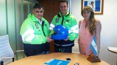 Chubut fue designada en la vicepresidencia primera del Consejo Federal de Seguridad Vial