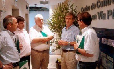 Concejales de la UCR visitaron el Centro de Monitoreo de San Isidro