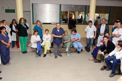 El gremio ratifica el paro en Salud