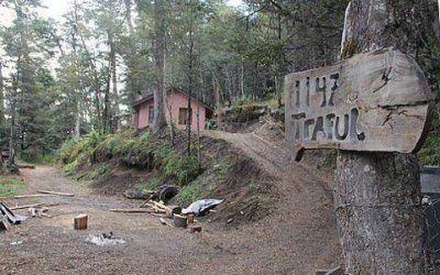 Mapuches aseguran que volver�n al lote de Gin�bili
