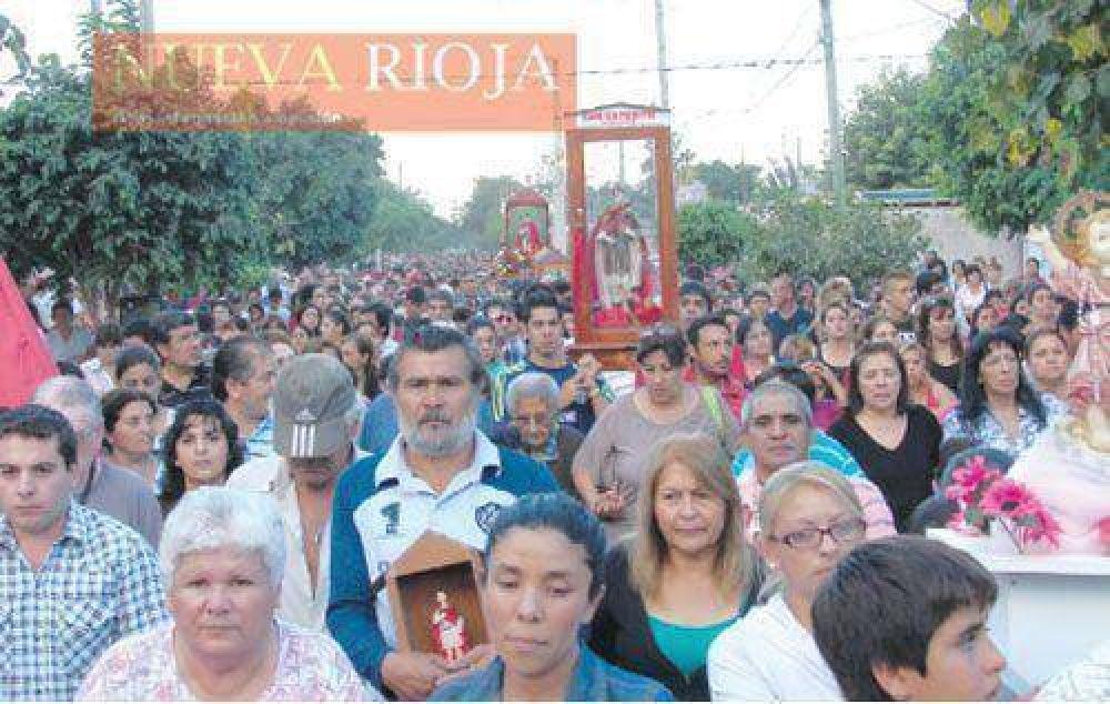Realizaron la procesión en honor a San Expedito
