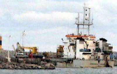 Puerto Quequén: extrajeron 900 mil metros cúbicos de sedimentos