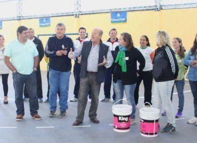 El handball y la solidaridad, protagonistas en el Polideportivo General Pirán