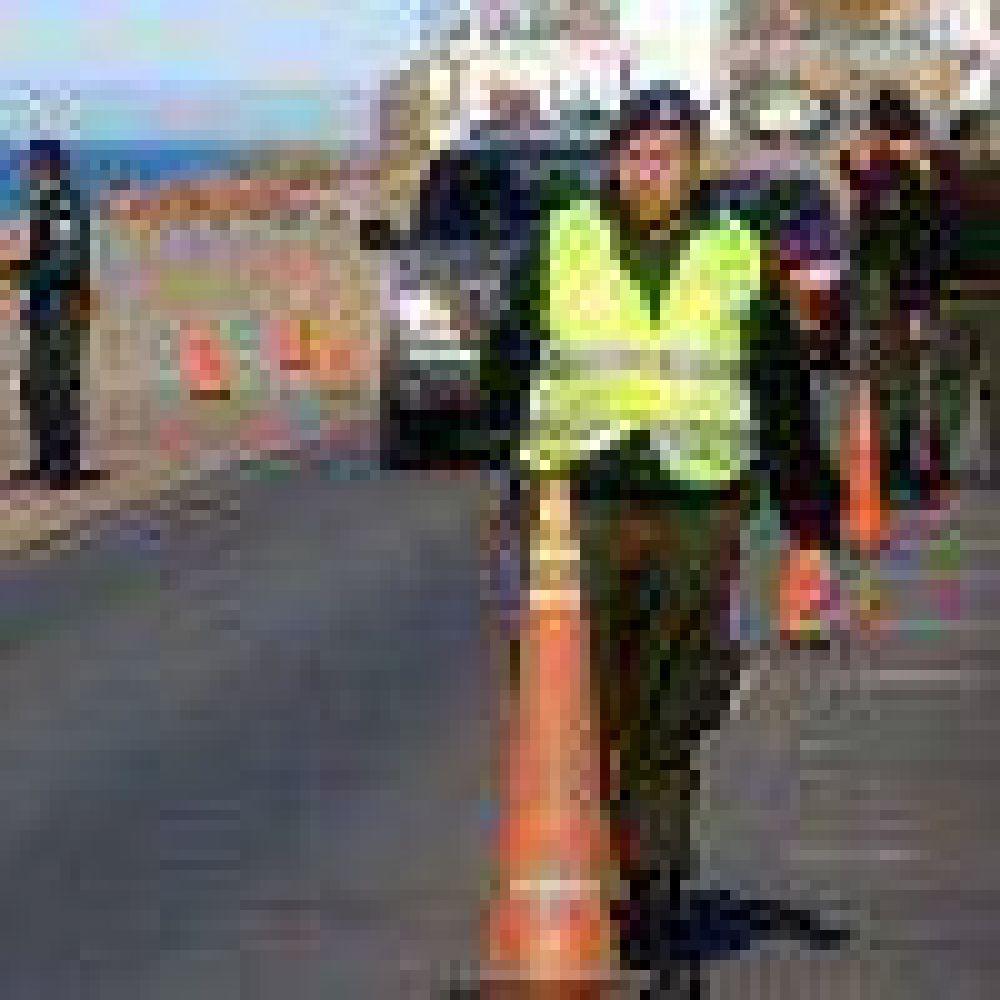 Máxima alerta: Llegaron más gendarmes al flanco norte santacruceño