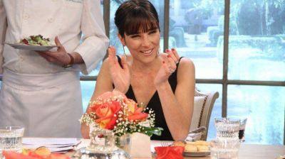 El extra�o pedido de Juana Viale para la foto oficial del Bailando