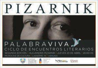 Segunda edición del ciclo Palabra Viva dedicado a la poeta Alejandra Pizarnik