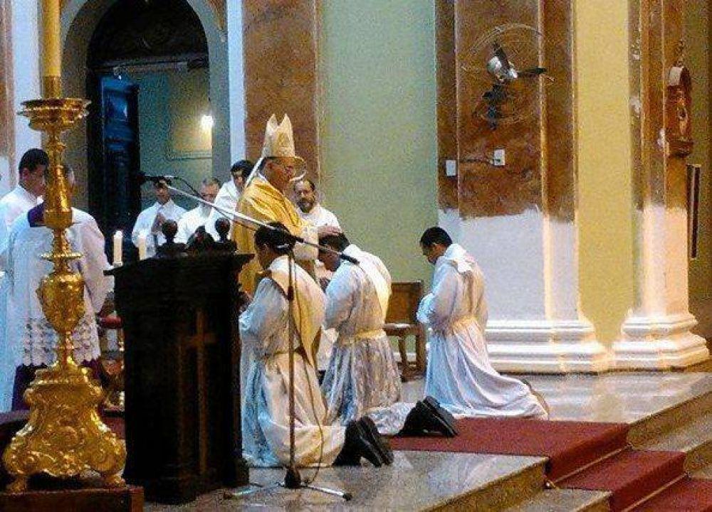 Tres nuevos sacerdotes para la diócesis sanluiseña