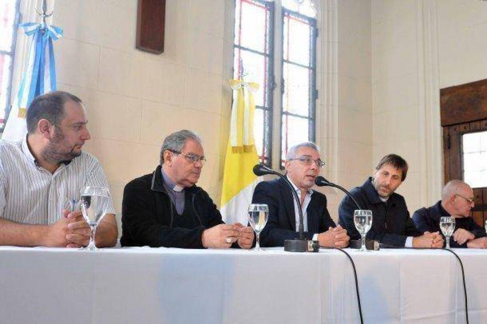 El obispado de San Isidro firmó un convenio de cooperación con el Municipio de Tigre