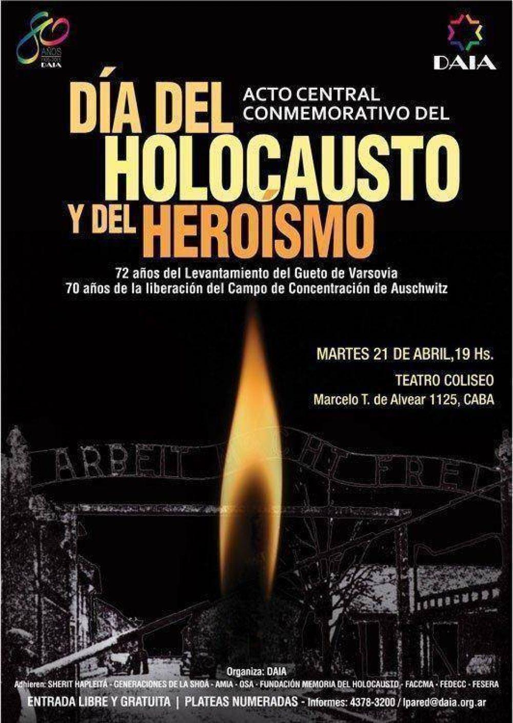 Acto Central por el Día del Holocausto