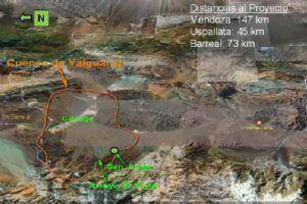 El proyecto para extraer cobre y oro en Uspallata ante la consulta pública