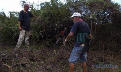 Unas 150 familias numerosas usurparon terrenos bald�os en el barrio Patono