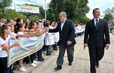 Desde Mocoretá, Colombi llamó a votar por un Gobierno nacional que